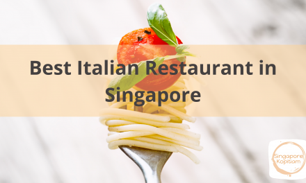 Best Italian Restaurant in Singapore